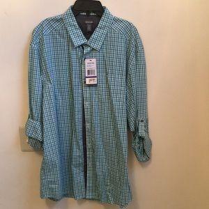 Kenneth Cole Button Down Men's Shirt. Size XXL.
